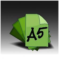 Ulotki A5 Dwustronne (4+4)
