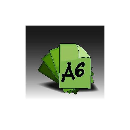 Ulotki A6 dwustronne (4+4)