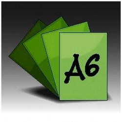 Ulotki A6 jednostronne (4+0)