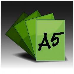 Ulotki A5 jednostronne (4+0)