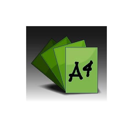 Ulotki A4 jednostronne (4+0)