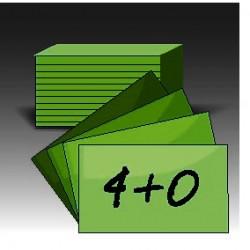 Wizytówki jednostronne (4+0)